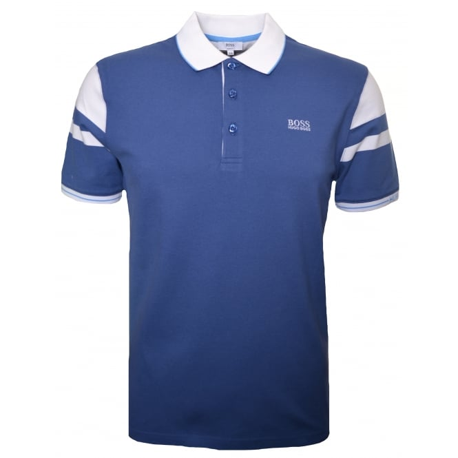Hugo Boss Kids Blue Polo Shirt