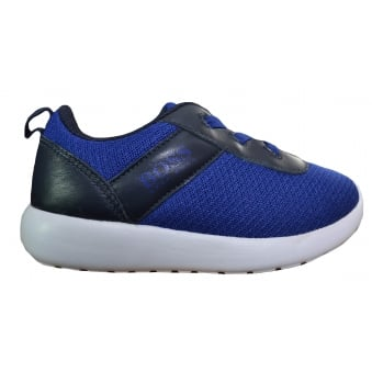 Hugo Boss Kids Blue Trainers