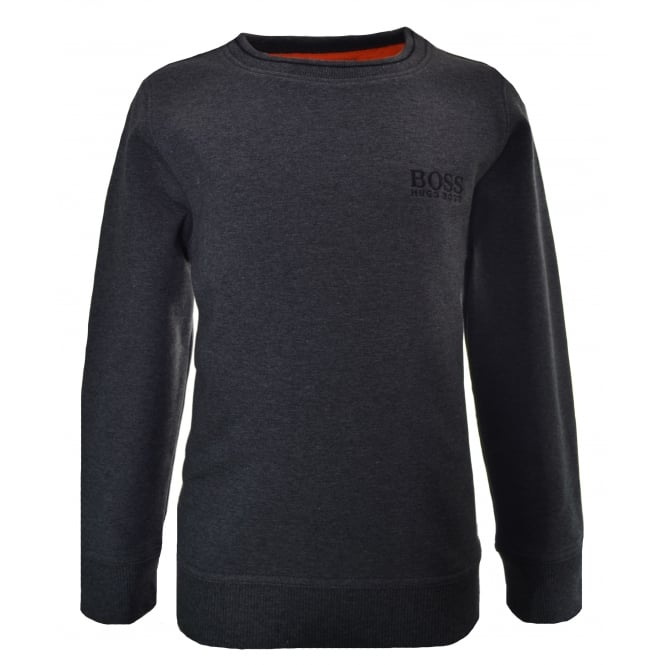 Hugo Boss Kids Dark Grey Sweatshirt