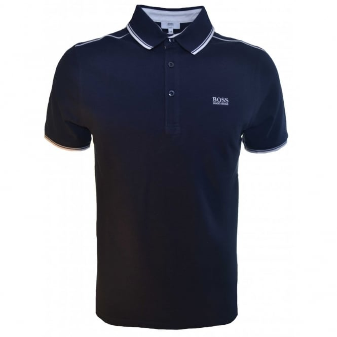 93ebb0892 Hugo Boss Kids Dark Navy Blue Short Sleeve Polo Shirt