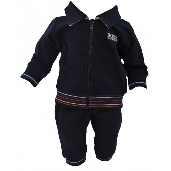90338bf21 Hugo Boss Baby Navy Blue Track Suit
