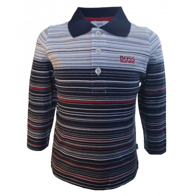 Blue Hugo Boss Polo