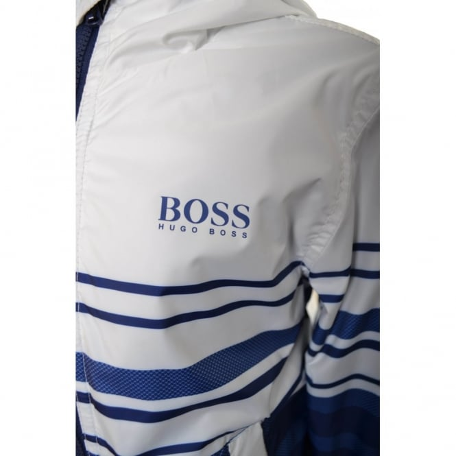 hugo boss kids windbreaker jacket
