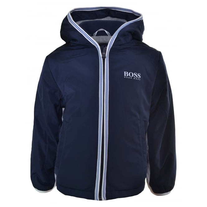 Hugo Boss Kids Hugo Boss Infants Navy Blue Windbreaker Jacket