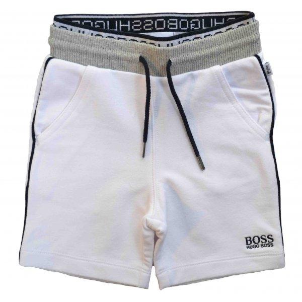 44187b0ba58a5 Hugo Boss Infants White Cotton Shorts