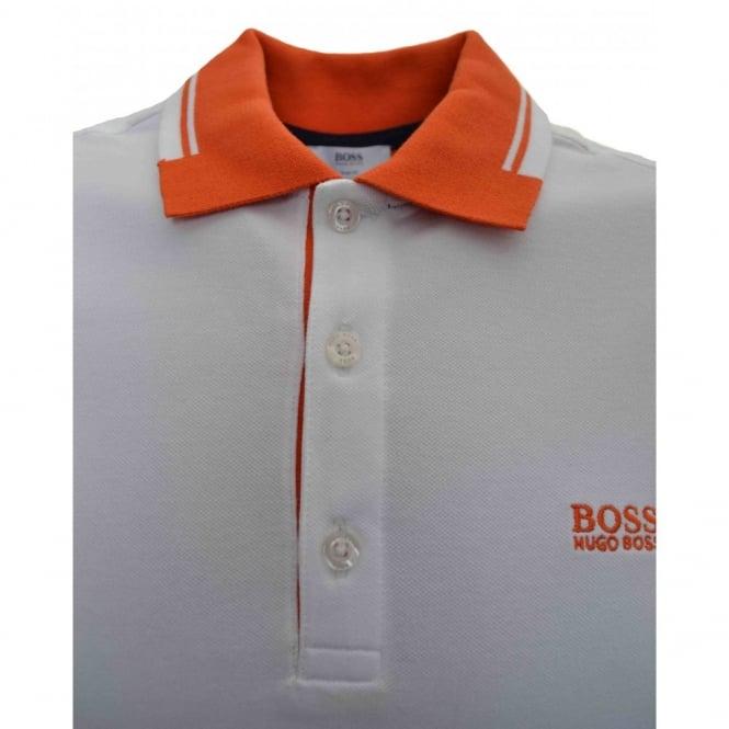 hugo boss orange polo