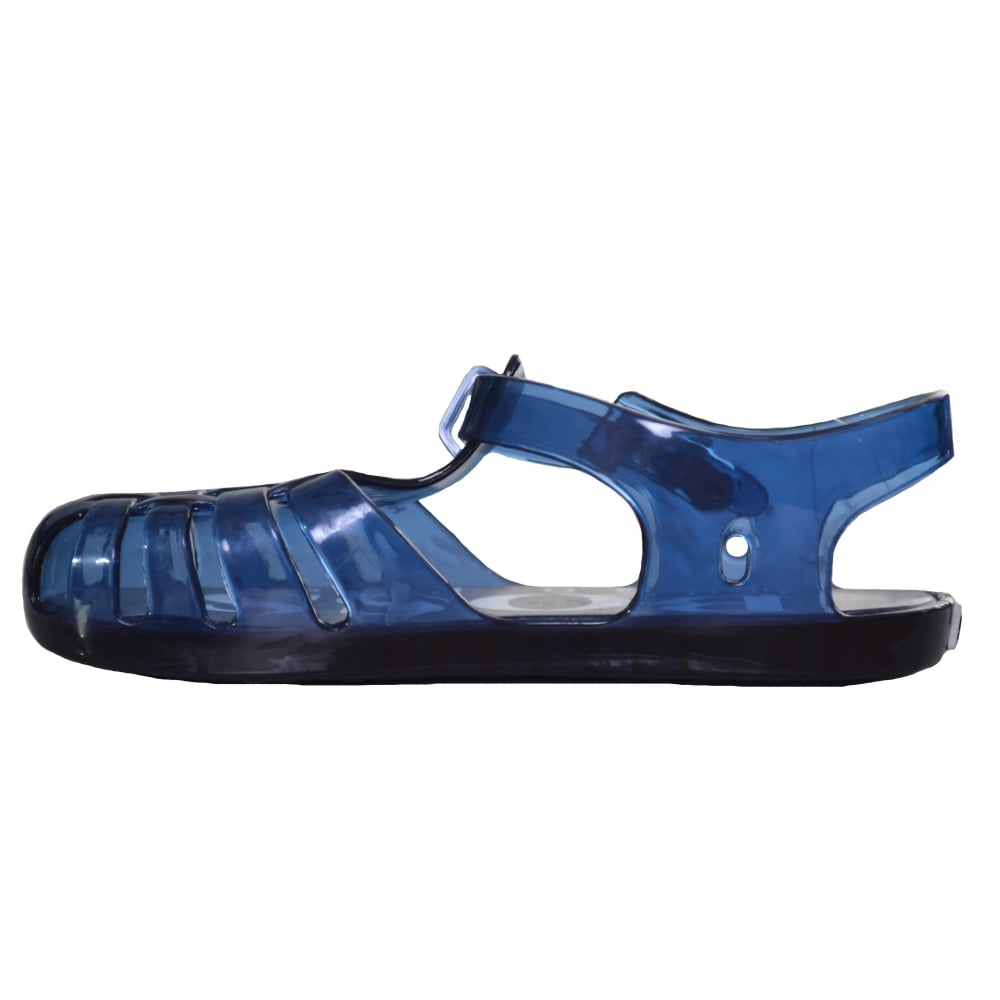 c3b5fac212b hugo boss kids navy blue jelly sandals