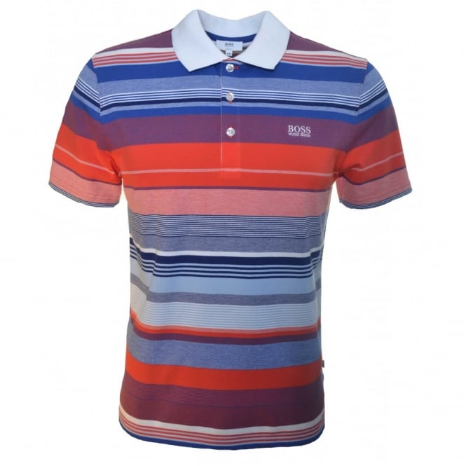 d89df82c7 Hugo Boss Kids Red Short Sleeve Polo Shirt