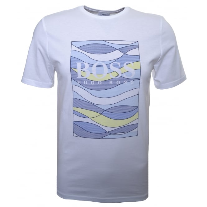 Hugo Boss Kids White T-Shirt
