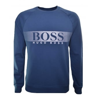 Hugo Boss Men's Blue Sweatshirt