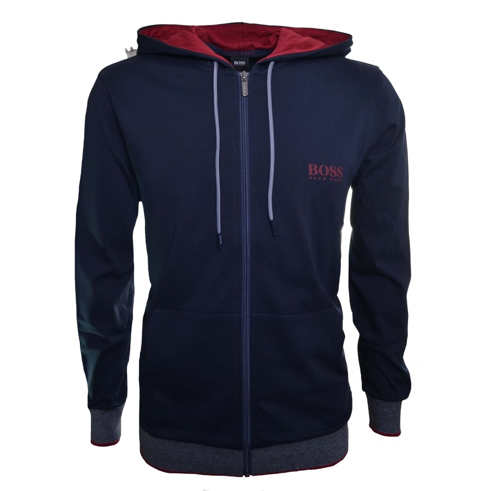 4bdab87fc Hugo Boss Men's Dark Blue Hooded Tracksuit
