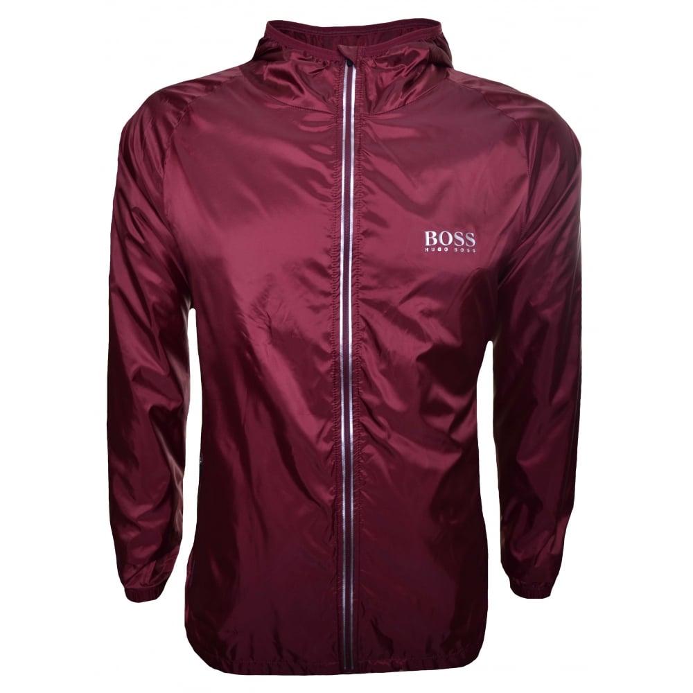 69e680005 Hugo Boss Men's Dark Red Beach Jacket
