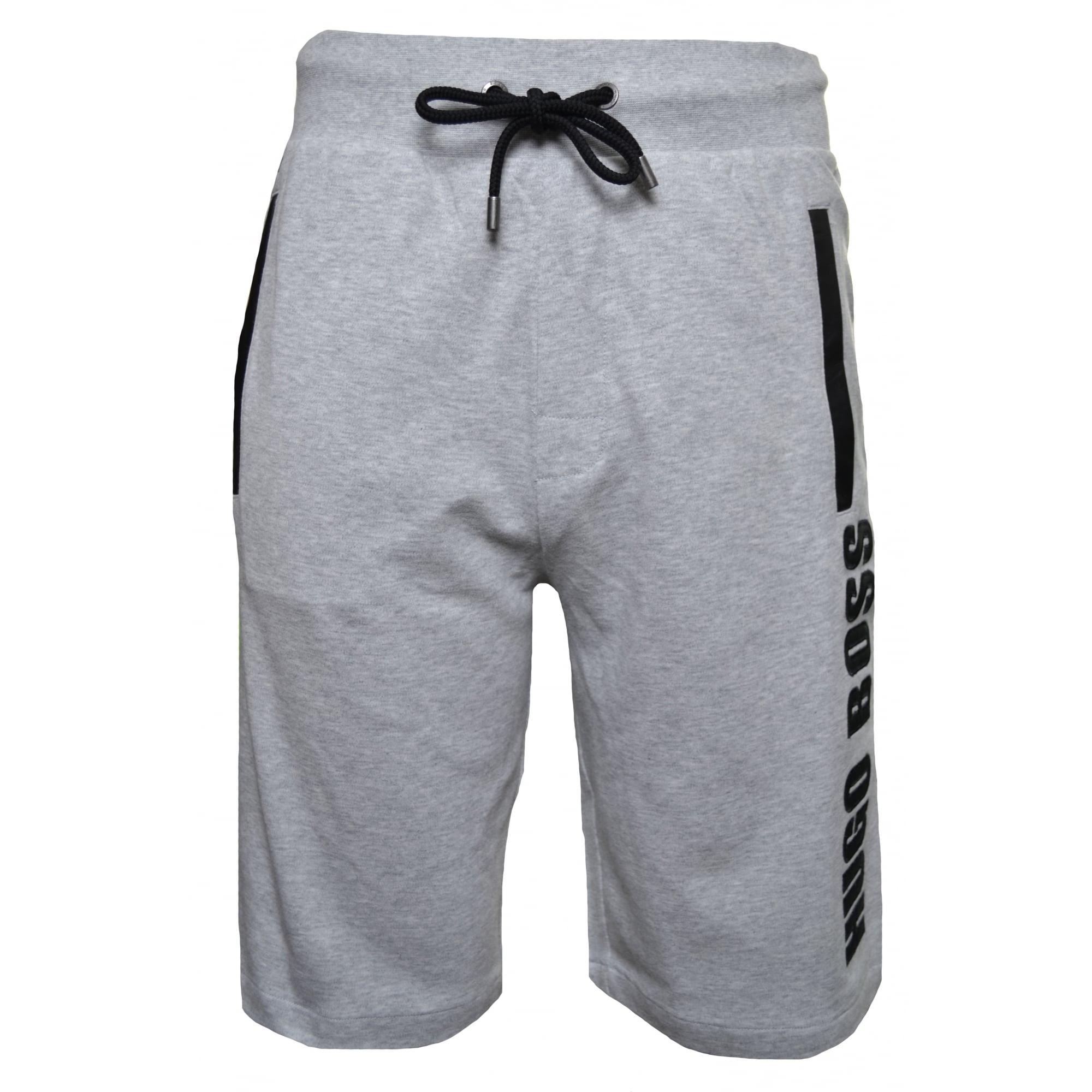 mens hugo boss jersey shorts