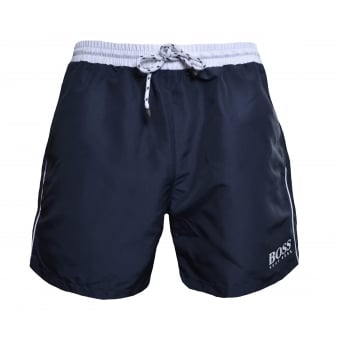 Hugo Boss Men's Grey Starfish Shorts