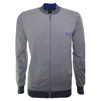 Hugo Boss Men's Medium Grey College Jacket