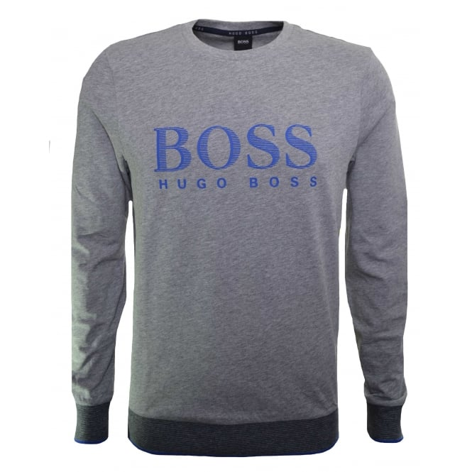 Hugo Boss Leisure Wear Hugo Boss Men's Medium Grey Sweatshirt