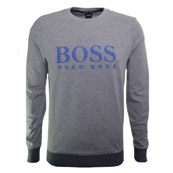 Hugo Boss Men's Medium Grey Sweatshirt