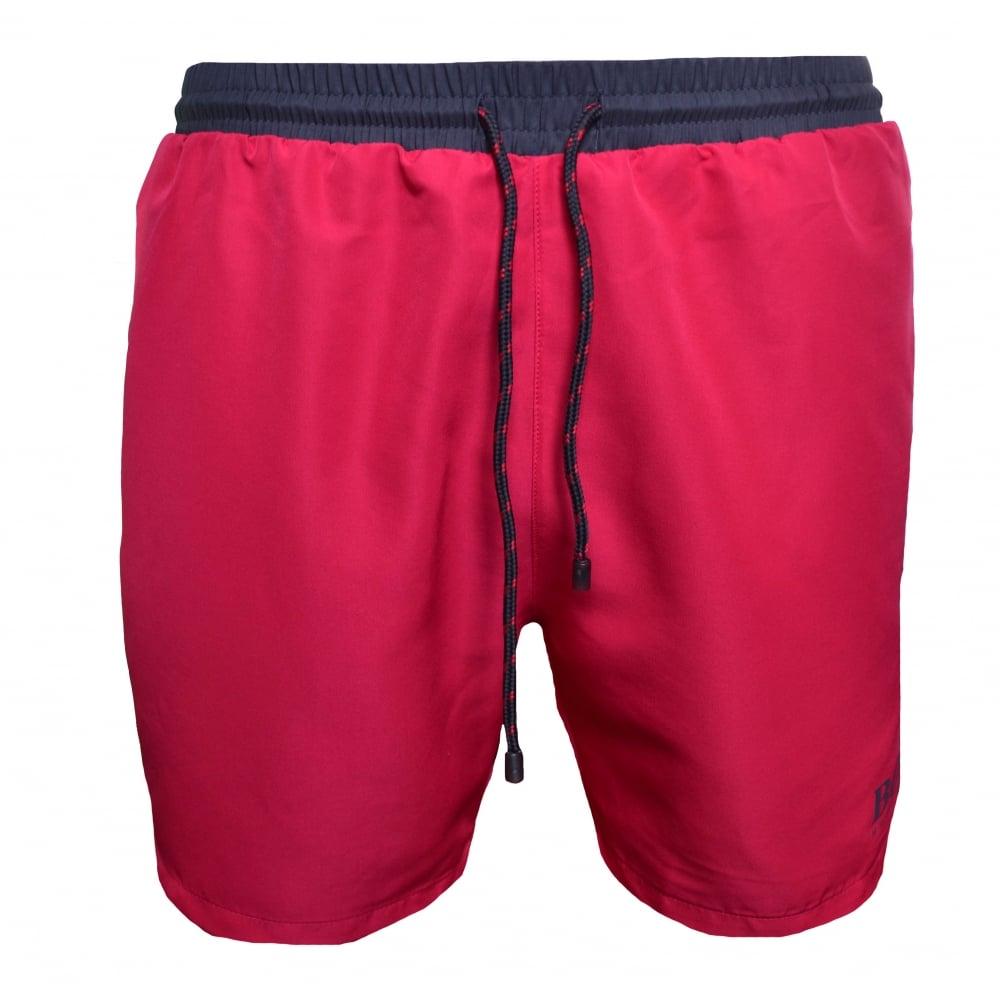 16848463 Hugo Boss Men's Medium Pink Starfish Swim Shorts