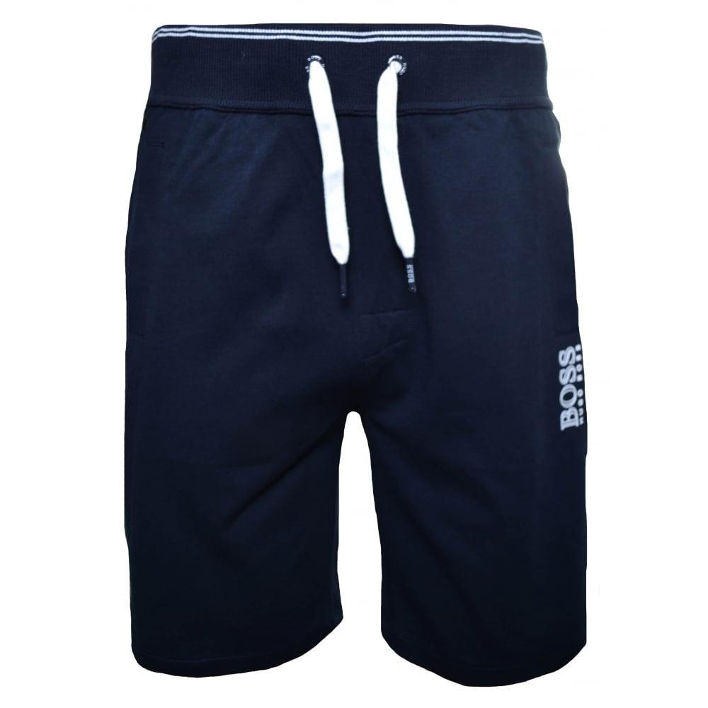 navy hugo boss shorts