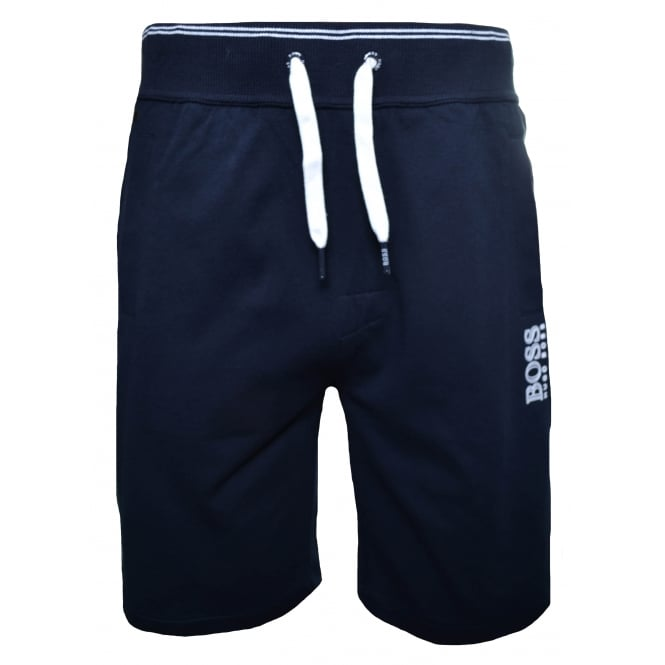 Hugo Boss Leisure Wear Hugo Boss Men's Navy Blue Jersey Shorts