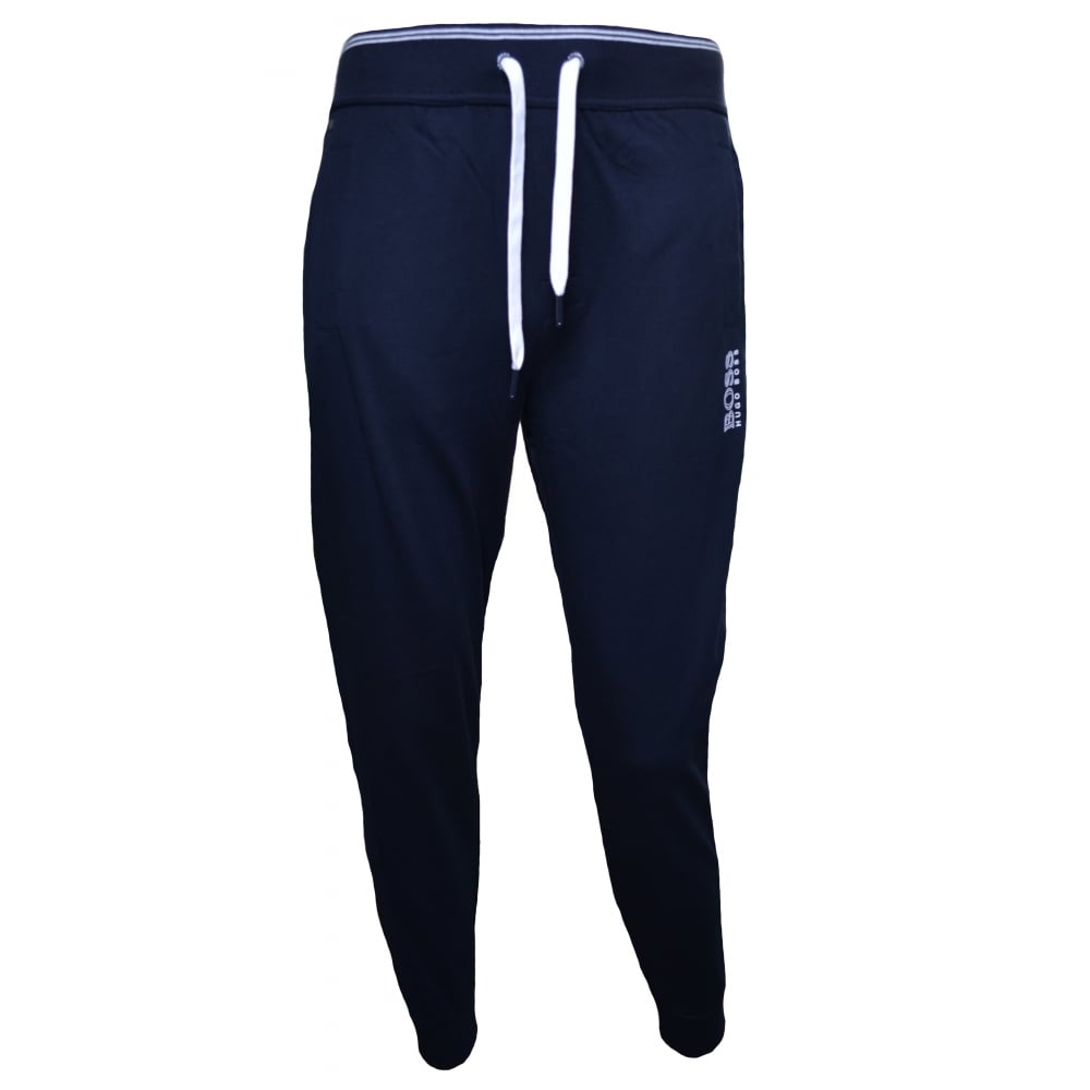 187e37c0a Hugo Boss Men's Navy Blue Jogging Bottoms
