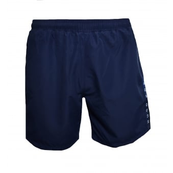 Hugo Boss Men's Navy Blue Seabream Shorts