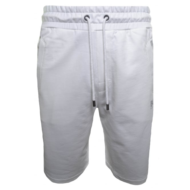 Hugo Boss Leisure Wear Hugo Boss Men's White Jersey Shorts