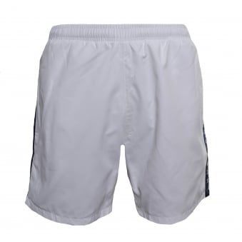 Hugo Boss Men's White Seabream Shorts