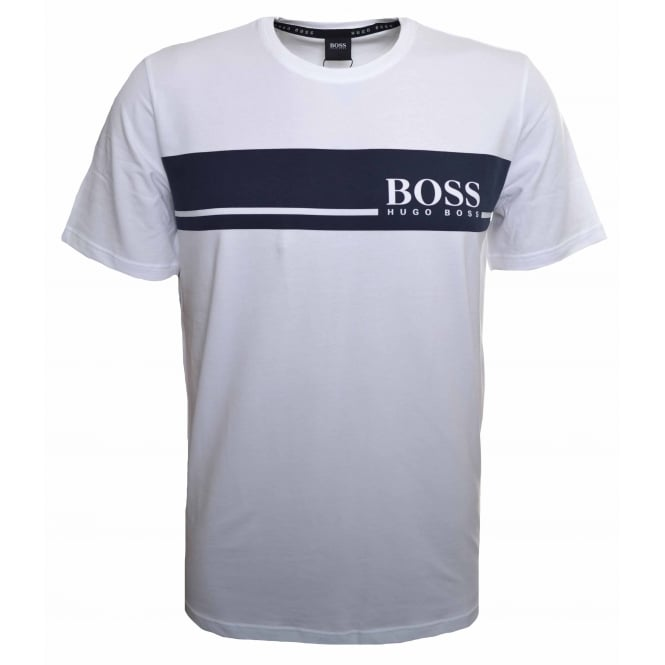 Hugo Boss Leisure Wear Hugo Boss Men's White T-Shirt