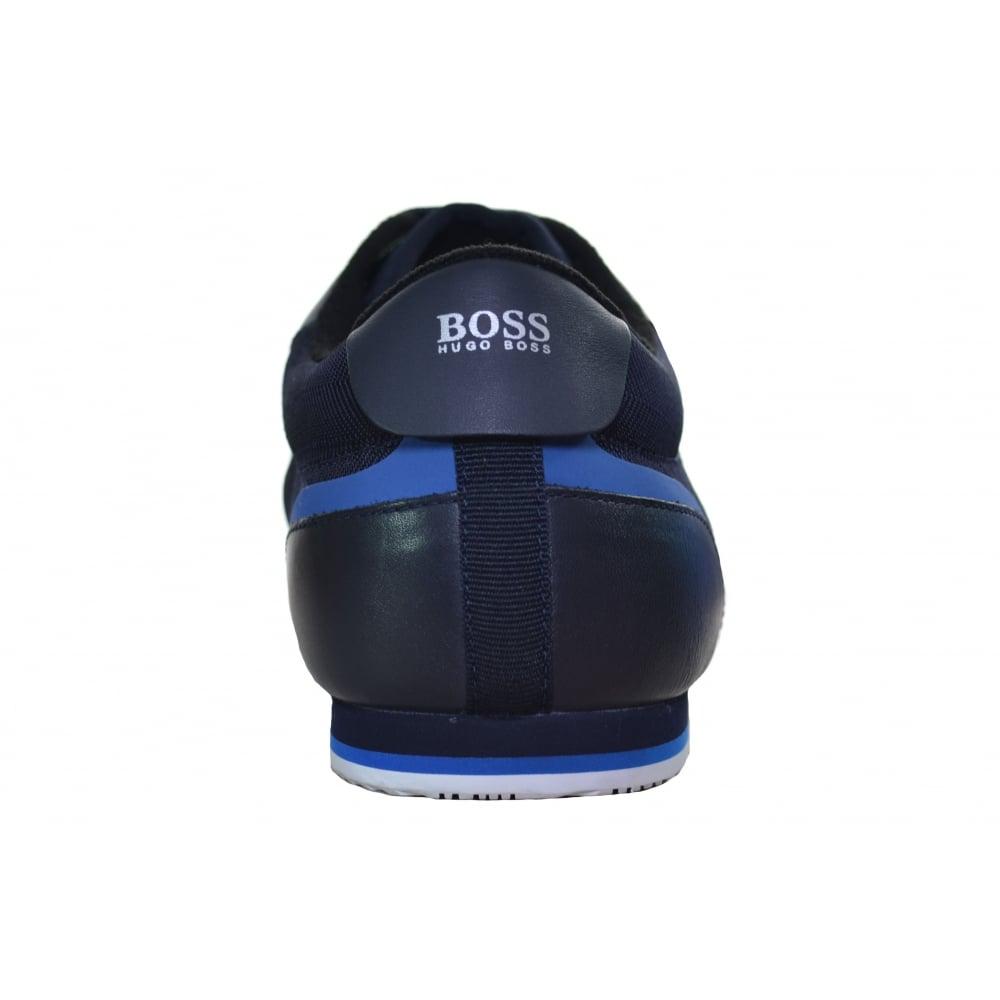 BOSS HUGO BOSS  Lighter Lowp Tech Trainer/'s In 401 Dk Blue