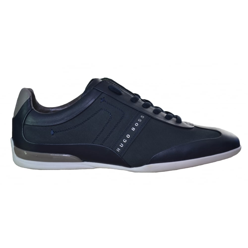 hugo boss men's green space select trainers