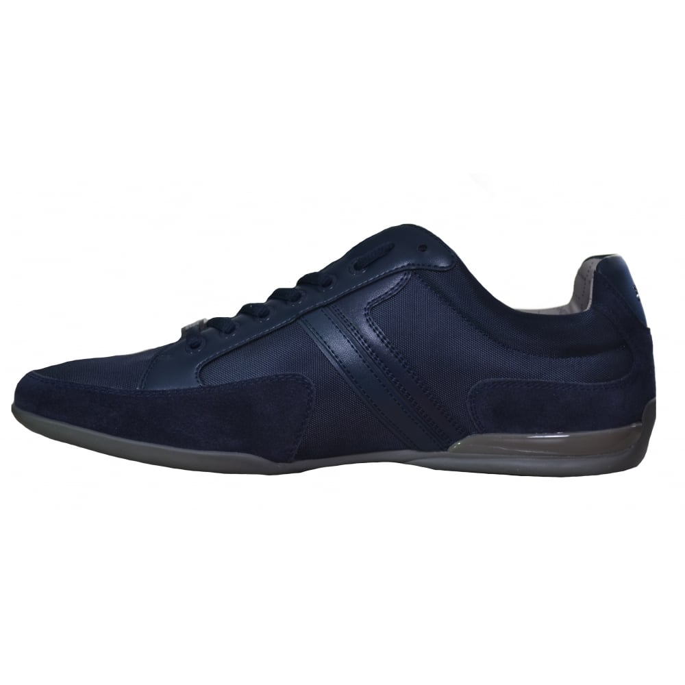 hugo boss mens hugo boss green mens navy blue spacit trainers p2538. Black Bedroom Furniture Sets. Home Design Ideas