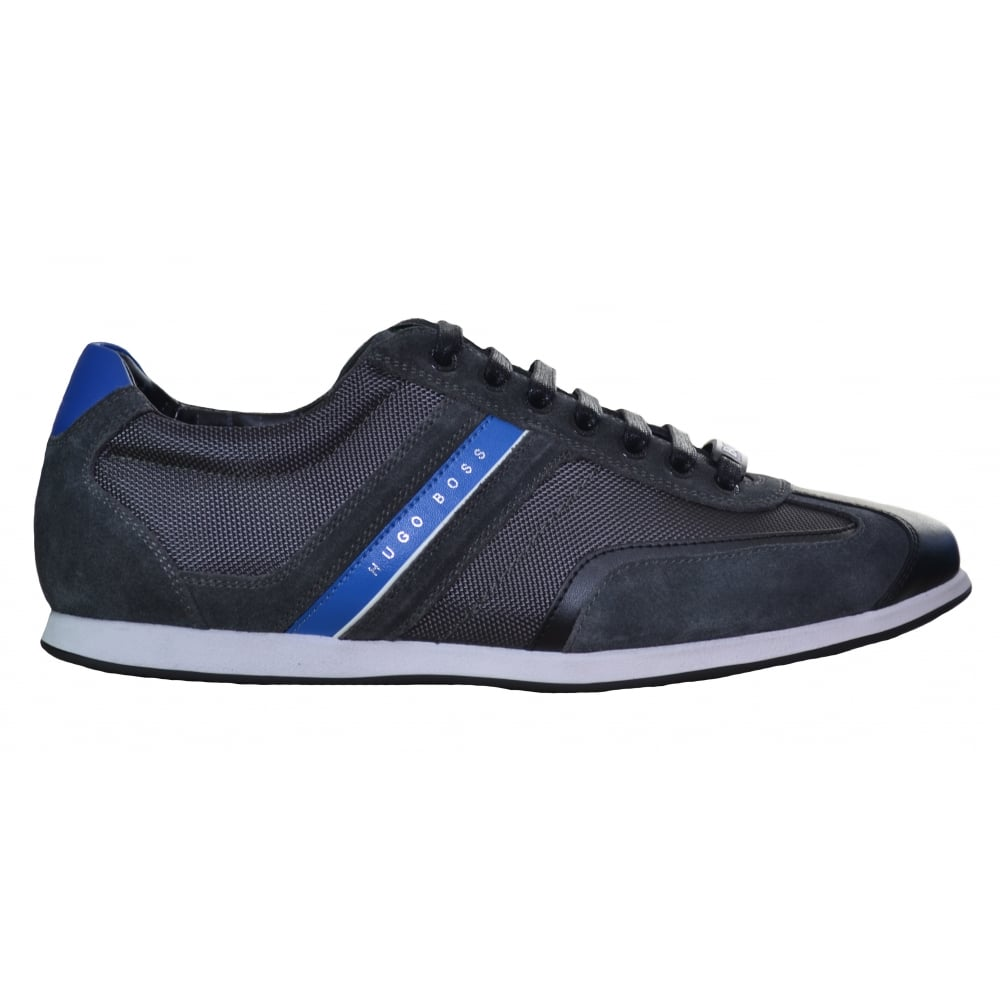 Mens Boss Green Stiven - Trainers - Charcoal PN19328