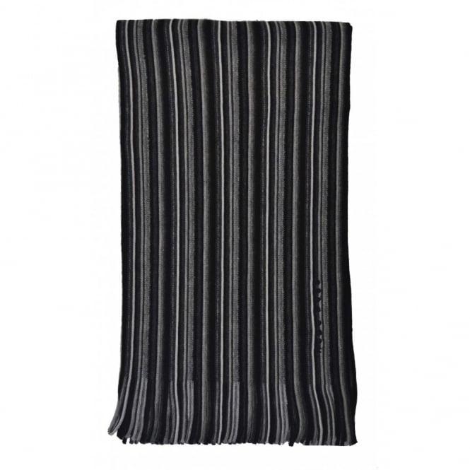 213cc10bd13277 hugo boss men's fadon black scarf