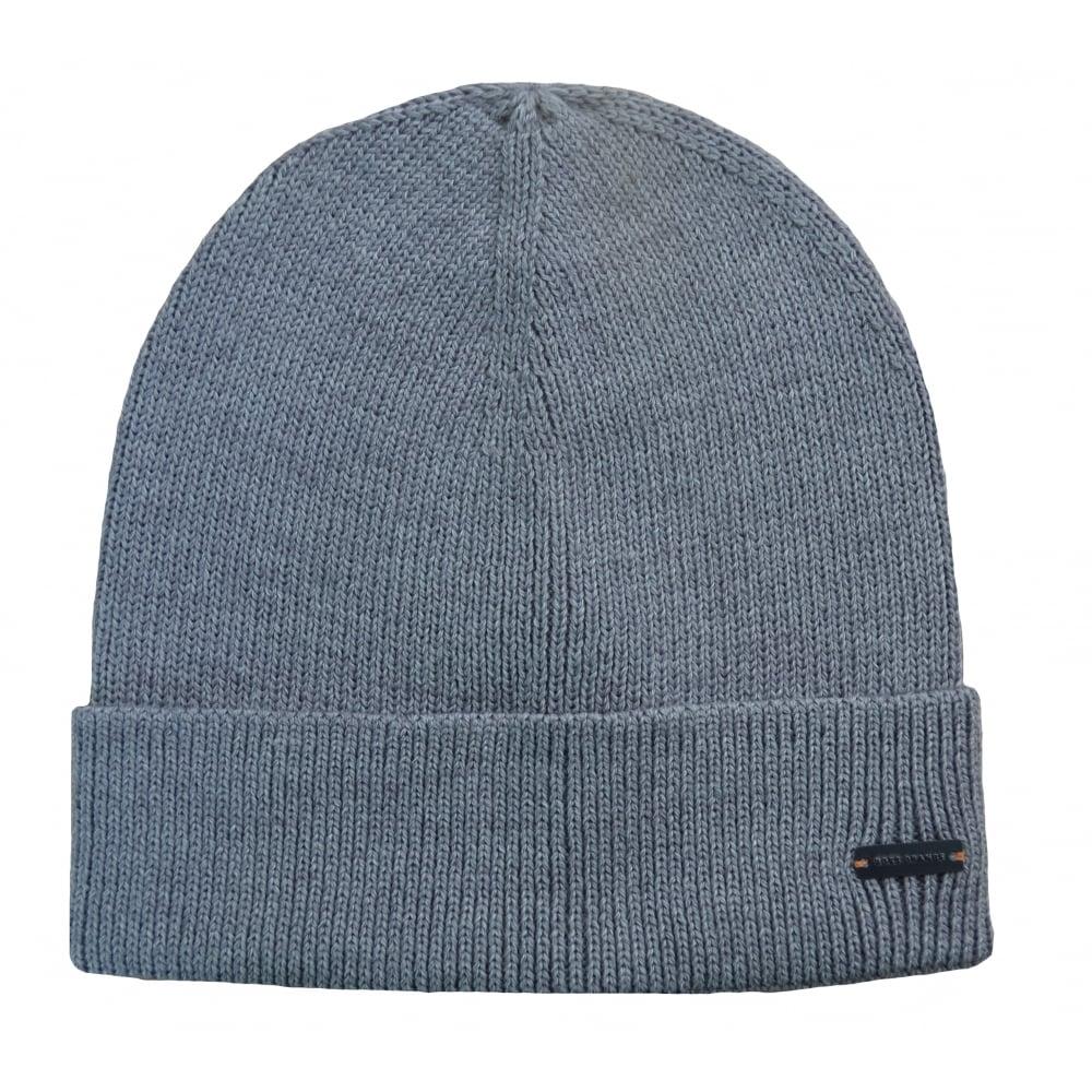 Hugo Boss Orange Men  039 s Fomero6 Light Grey Wool-Blend Hat 92962ab0d4e