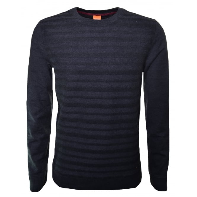 Hugo Boss Orange Men's Wertigo Black Jumper