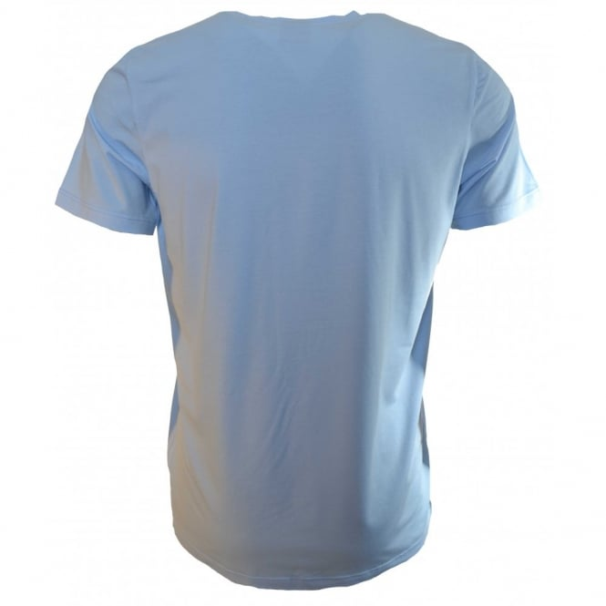bc7f60a923e736 Hugo Boss Men's Light Pastel Blue T-Shirt