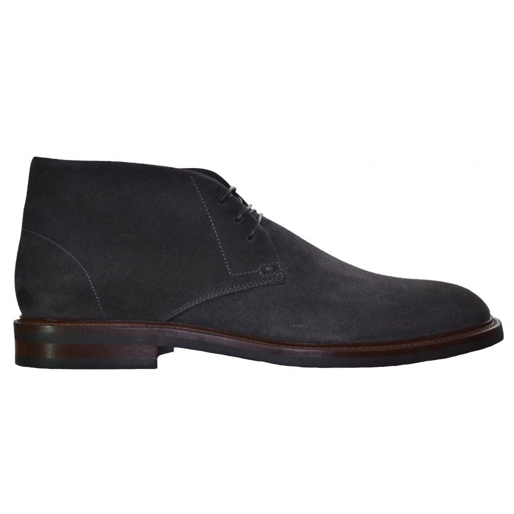 hugo mens grey boots