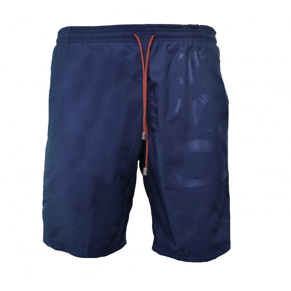 06db54b206 hugo boss men's orca dark navy swim shorts