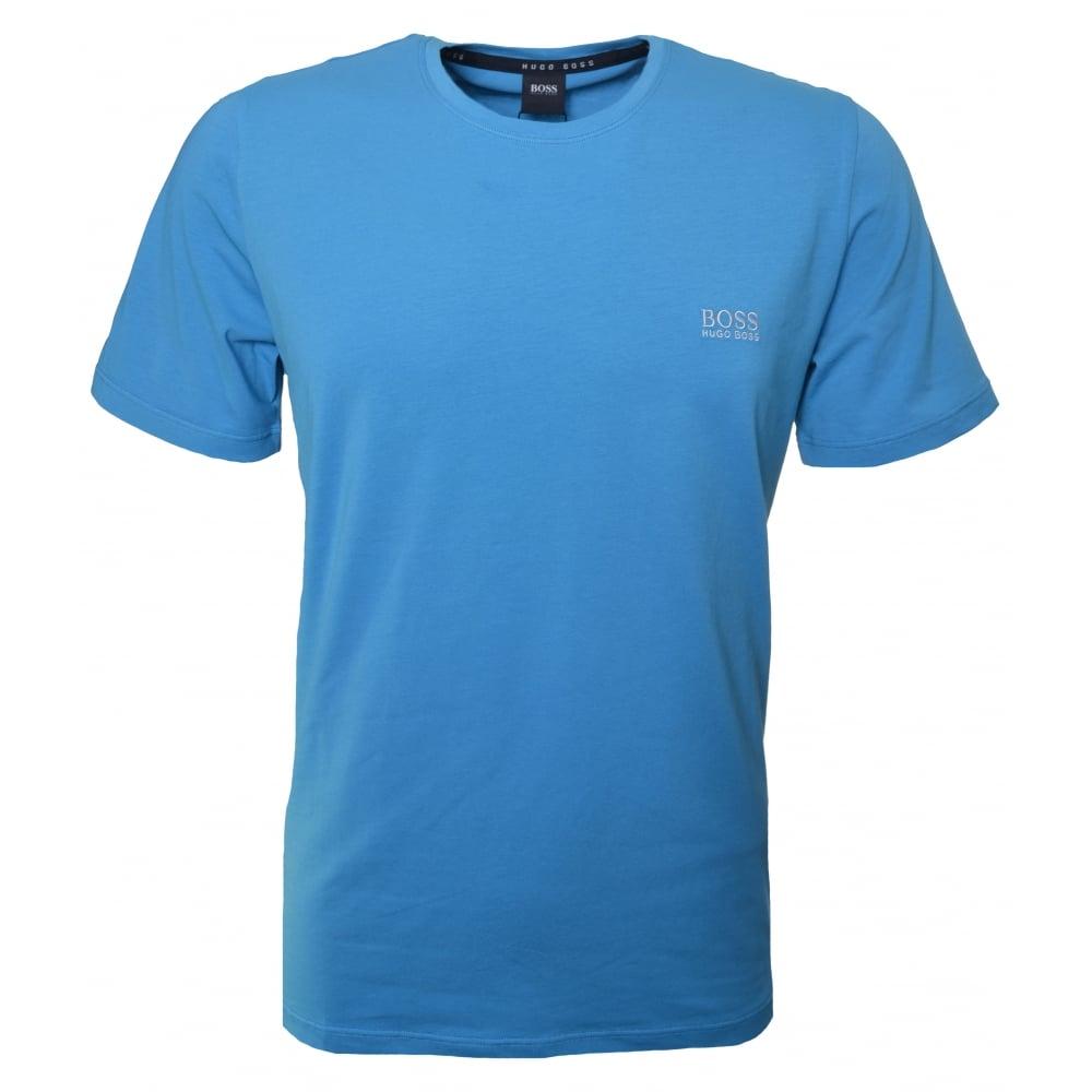 hugo boss mens turquoise aqua blue t shirt