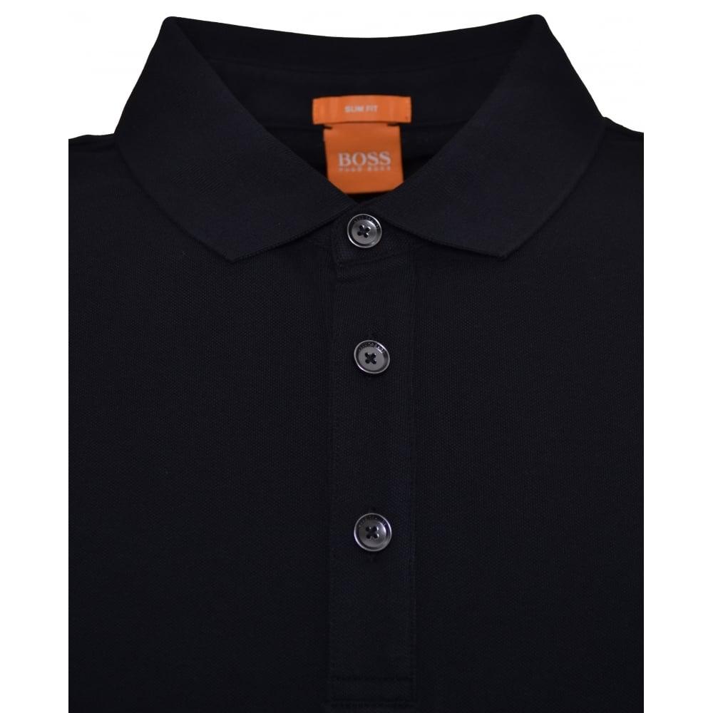 cbc89fec0 Hugo Boss Men's Casual Slim Fit Black Pavlik Polo Shirt