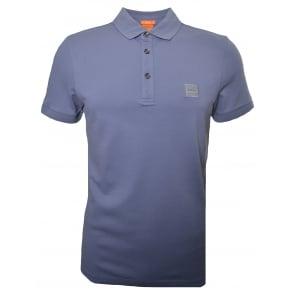 2660f538 Hugo Boss Men's Casual Slim Fit Grey Pavlik Polo Shirt