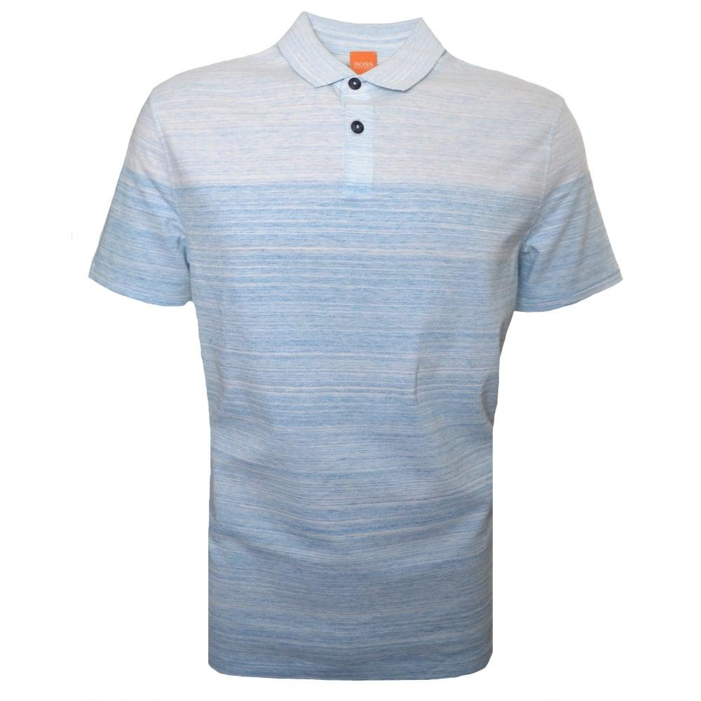 Hugo boss mens polo for Orange polo shirt mens