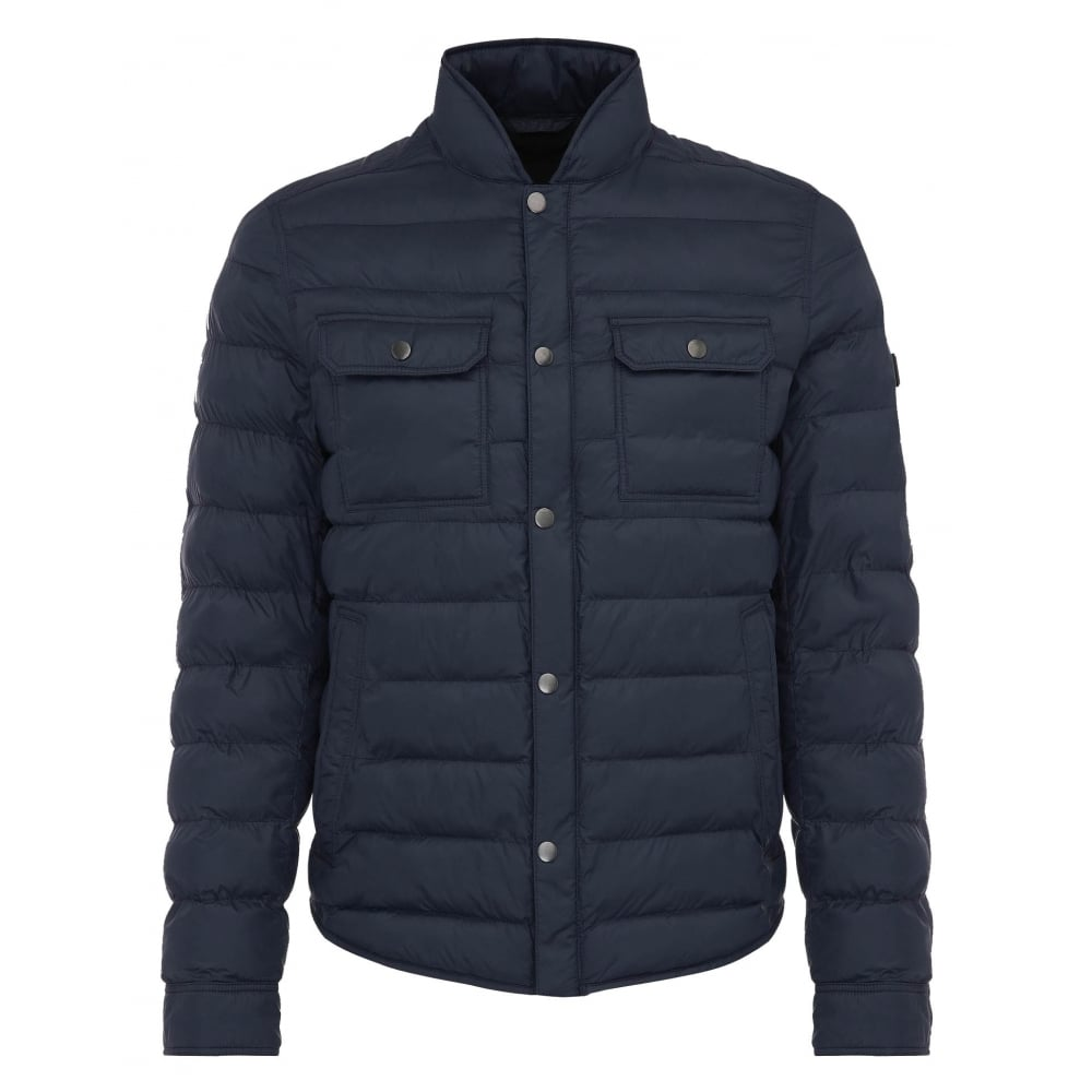 hugo boss dark blue jacket