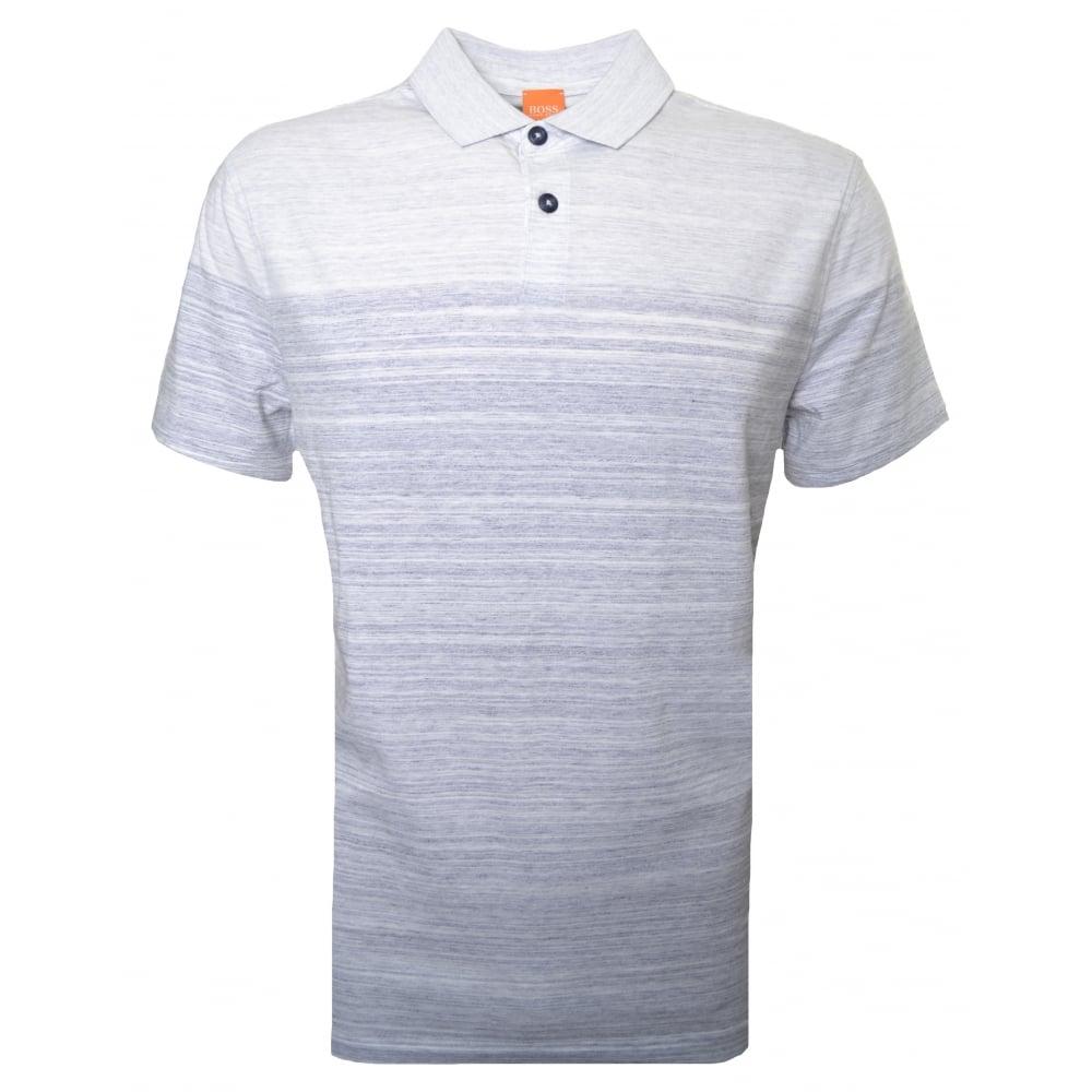 ad6101cd8b4d Hugo Boss Orange Men  039 s Dark Blue Painter Polo Shirt
