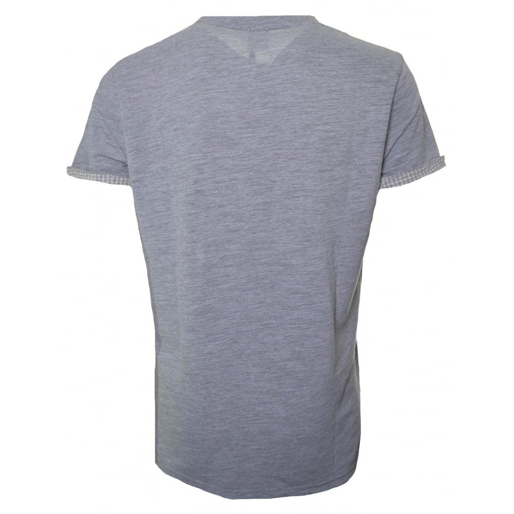 c4ca9ef6 Hugo Boss Orange Men's Light/Pastel Grey Tile T-Shirt