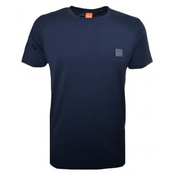 Hugo Boss Orange Men's Navy Blue Tommi UK T-Shirt