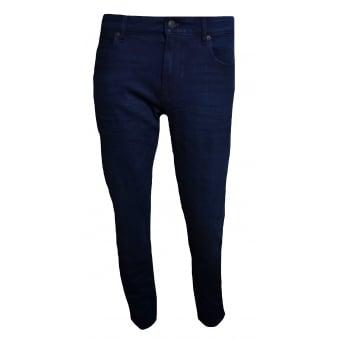 c63ea5abb Hugo Boss Orange Men's Orange24 Barcelona-C Dark Blue Regular Fit Jeans