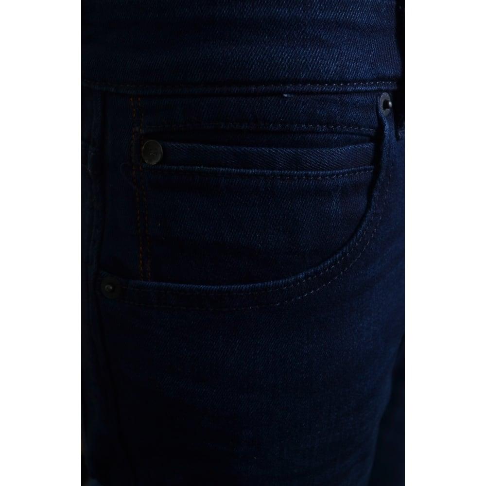 ac5aa358703e48 Hugo Boss Orange Men's Orange24 Barcelona-C Dark Blue Regular Fit