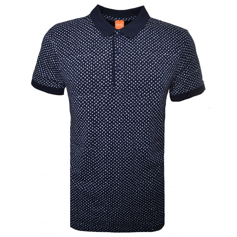 8b915b69fcd ... coupon for hugo boss orange men039s palex navy blue polo shirt b87af  70536